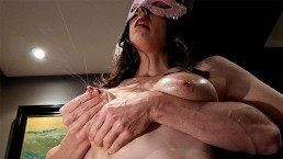 She begs me to milk her tits