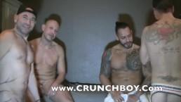 la partouze de viktor rom au sauna d ebordeau avec des mecs tbm  bareback