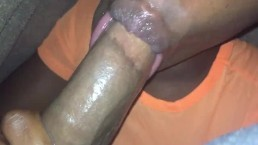 YOUNG EBONY TEEN SUCKING HER FRIEND BOYFRIENDS BBC