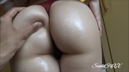 Thicc Stepsis Wanted an Oiled Up Butt Massage... - Fit Amateur ScarletFitXX