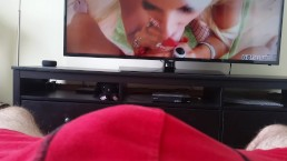 HFO using binaural beats, watching big boob MILF Brittany Andrews suck cock
