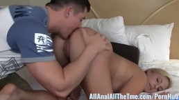 Amateur Blonde Payton Simmons Gets Ass Licked at All Anal!