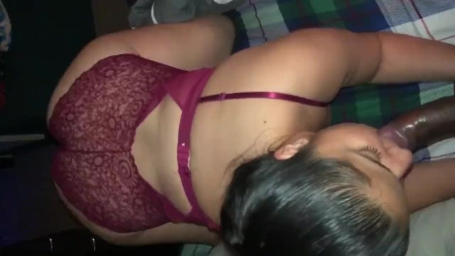 Chicago bull suck Thick big ass latina sucks bbc bull while boyfriends away