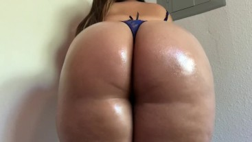 Legs Together Oily Booty Shaking + Ass Clapping Custom