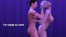 Detroit: Eden Club Adventures EP3 - Connor wants Pussy
