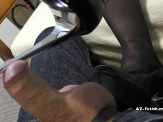 Sexy Free Ass Shoe Job And High Heels Job Until Cumshoot On Feet And Shoes