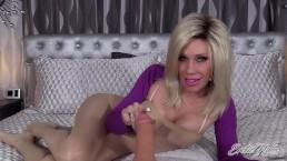 POV Dildo Fucking MILF - Your Big Cock Inside Her - Erotic Nikki Ashton