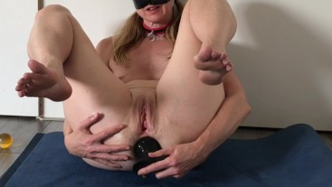 Submissive Painslut Sex Slave: Anal Training, Asshole Gaping, Piss Drinking