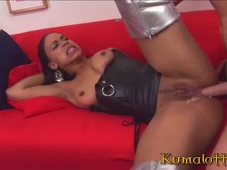 Hard Interracial Anal Sex & A2M