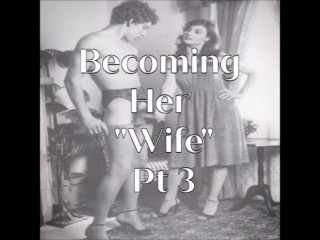 Becoming Her Wife Pt 3 - Erotic Audio - sample