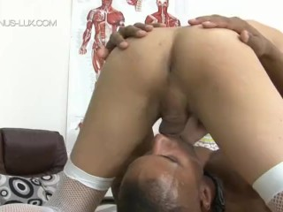 TS Venus Lux Gets Pounded by Robert Axel Teacher-Student Fetish