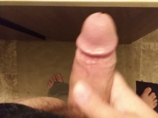 Beating my cock until I'm paid enough to buy an iphone Day 6