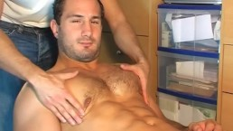 My real str8 neighbour in a gay porn ! Enzo !