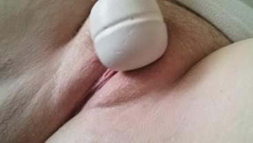 Teasing my clit until orgasm
