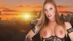 Britney Amber Craves Cock as a Whorecraft Death Knight