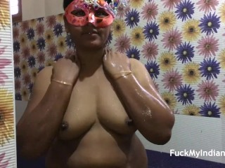 full night sex enjoyment with Indian bhabhi and shower