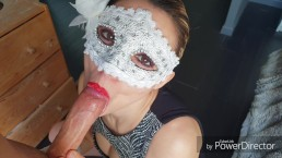 Candycherry7♡ spit on me, my mask cover of cum, i lick all