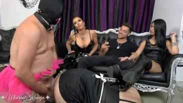 Mistress Kennya: Private bi sluts show