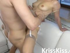 Teen POV Blowjob Big Dick and Hard Fuck with Cumshot