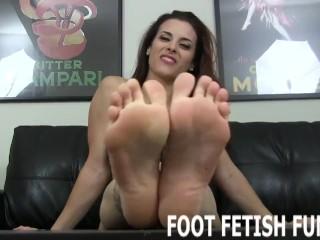 Foot Fetish Fantasy And POV Toe Sucking Porn