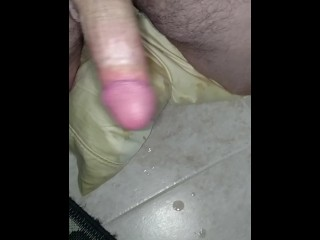 me blowing ropes of cum in slo mo