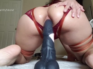 Poll Win: Bad Dragon Horse Cock Fucking My Ass