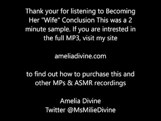 Becoming Her Wife Conclusion - Erotic Audio - sample