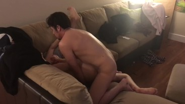 More fun watching new friend fuck my wife until she screams, I get seconds