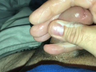 Lance lil dick jerking of his 2 inch dick
