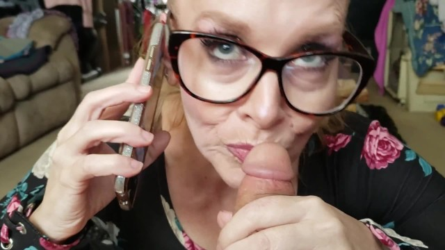 Mom playing sons cock Taboo blonde milf mom sucks step son cock with dad listening on phone
