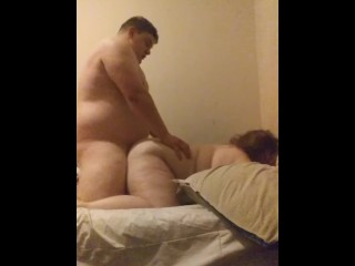 Chubby girl and boyfriemd fucking