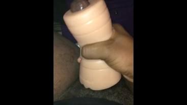 Using My Belladonna Pocket Pussy