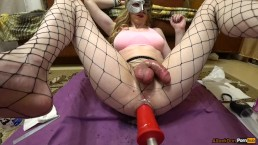 fucking-machines & squirting orgasm