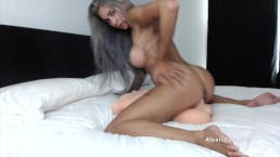 Sucking Riding and Creaming Over My Torso Man POV - Alexis Zara