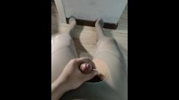 A喜欢穿着丝袜撸管之肉色01