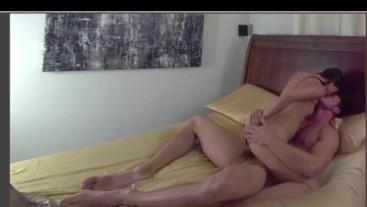 little asian rides brandon cody till he cums all over her big ass!