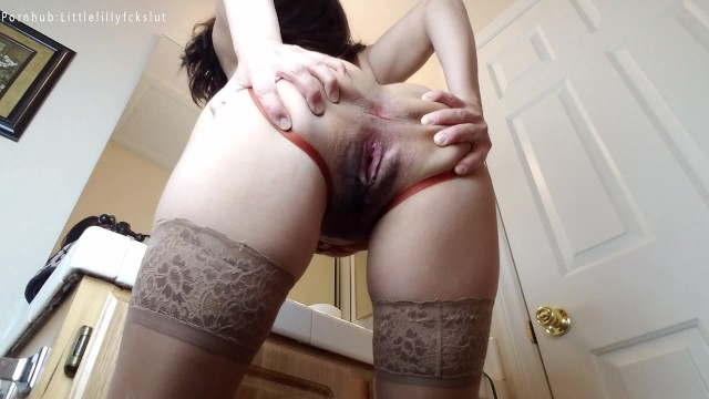 Pissing my pantyhose tubes Stroke to my pissy dirty pantyhose feet