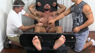 Dean Alessio Romero Gets Tickle Torched