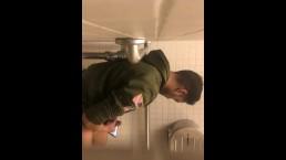 Caught hot Indian guy cuming