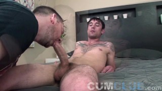 Cum Club: Big Cock Cum Swallow - Eating A Load From A Fat Dick