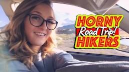 Road Trip Flashing Naughty Hike Public Blowjob - Molly Pills - POV GFE
