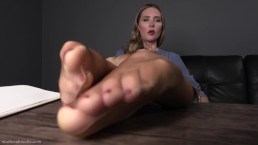 Virtual Therapy Foot Fetish Session Pantyhose Domination FULL VIDEO