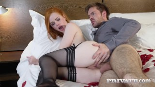 Ella Hughes and Ryan Rider celebrate their marriage with hard fucking!