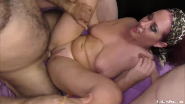 Tyla Moore and Lola Marie GangBang Party