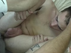 Straight Bitch Boy Screams Getting Fucked Bareback By Thick Cock