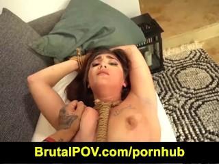 Brutal POV – Luci Diamond – My Date Likes BDSM