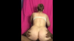 Fucks my ass then cums in my pussy then slides back in my ass