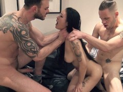 FULL VIDEO! My Wet Pussy Enjoyed Getting Fucked by Two Massive Dicks