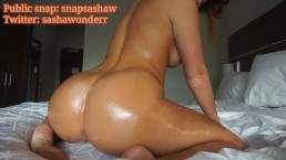oiled up ass