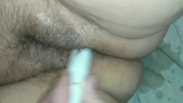 Slow motion squirting and cumming part 2